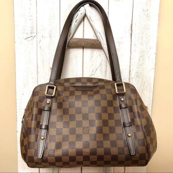 Louis Vuitton Handbags - Auth Louis Vuitton Rivington GM Damier Ebene bag